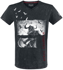 Black Premium by EMP Into Battle T-Shirt nero