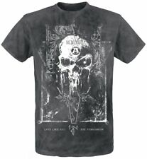 Alchemy England Mortis Capitas T-Shirt nero