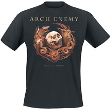 Arch Enemy Will To Power  T-Shirt nero