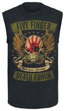 Five Finger Death Punch Locked & Loaded Canottiera nero