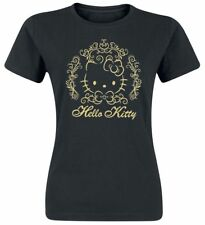 Hello Kitty Ornament Kitty Maglia donna nero