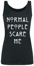American Horror Story Normal People Scare Me Top donna nero