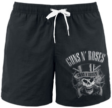 Guns N' Roses Top Hat Costume da bagno nero