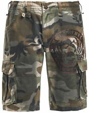 Rock Rebel by EMP Army Vintage Shorts Pantaloncini mimetico