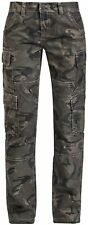 Black Premium by EMP Camo Leisure (Loose Fit) Pantaloni donna mimetico