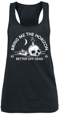 Bring Me The Horizon Better Off Dead Top donna nero