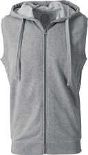 RED by EMP Terry Vest Gilet grigio