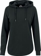 RED by EMP Oversized Terry Hoodie Felpa donna nero