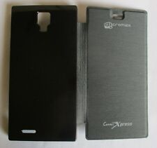 Micromax Canvas Xpress A 99 Back Flip Cover Cases/Screen Guard