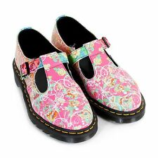 Dr Martens Women's Polley Daze Backhand Leather Shoe Multi