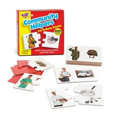 Community Helpers Fun-to-know Puzzles - NEW!