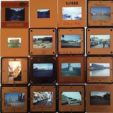 Vintage 35mm Photo Slides - Places Street Scenes Cities - Retro Pics 1960's 70's