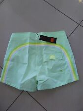 "SUNDEK SHORT COSTUME UOMO M502BDP6000 LOW RISE LUNGHEZZA MEDIA 14"" FLUO GREEN"