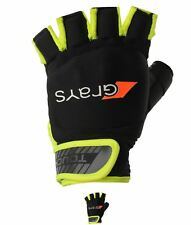 ARTICOLO Grays Touch Hockey Gloves Unisex Adults Black/Yellow