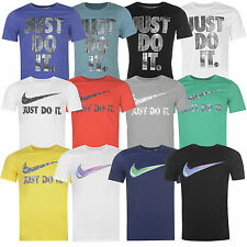 Nike Herren T-Shirt Shirt Swoosh Tee Freizeit Baumwolle NEU S-2XL M04 Just Do It