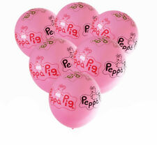 "12"" Peppa George Pig Latex/ FOIL / FLAG Kids Birthday Party Balloons Decoration."