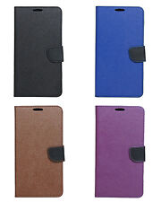 Synthetic Leather Magnetic Lock Flip Cover For Moto G Plus 4th Gen