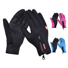 Sports Women Men Snowboard Motorcycle Bike Riding Winter Touch Screen Gloves