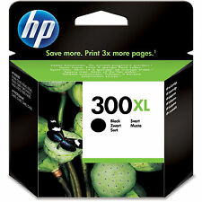 Genuino HP Hewlett Packard Cartucho de tinta Negro HP 300xl (CC641EE) 600