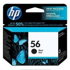 ORIGINALE OEM HP 56 Hewlett Packard C6656A ORIGINALE CARTUCCIA INCHIOSTRO NERO