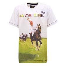4027T maglia bimbo LA MARTINA JUNIOR multicolor t-shirt kid
