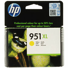 GENUINE HP OFFICEJET PRO HIGH CAPACITY YELLOW INK CARTRIDGE - 951xl / CN048AE