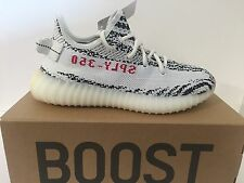 Unisex Adidas Yeezy Boost 350 V2 White/Black/Red CP9654 Size: UK 5 Last Pair