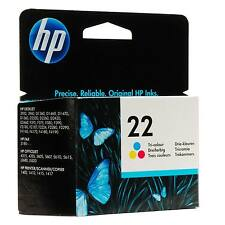 1 HP HEWLETT PACKARD ORIGINAL COLOR Cartucho de tinta HP 22 HP22 C9352AE