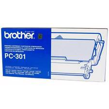 ORIGINALE BROTHER PC-301 FAX Macchina Stampa CARTUCCIA NASTRO CASSETTA/NUOVO