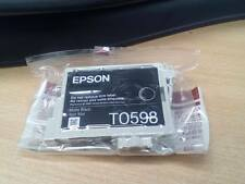 Genuino Epson Negro Mate Original Cartucho de Tinta T0598 - Clearance