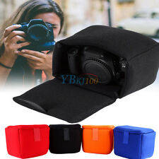 Portable Velvet DLSR Camera Bag Insert Camera Partition Padded Bag Case OB