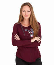 Joe Browns Women's Long Sleeved Pullover Top with embroidered detail