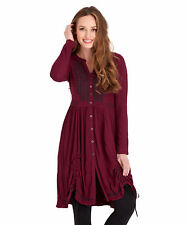 Joe Browns Women's Long Sleeved Longline Blouse with hitched hemline