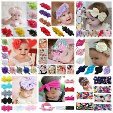 Cute Toddler Baby Girl Headband Lace Bow Flower Infant Hair Band Accessories Lot
