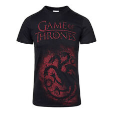 T Shirt Game of Thrones House Targaryen Sigil Merchandise Cinema Casual Unisex