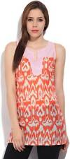 Style Quotient By Noi Printed Womens Tunic-CYM
