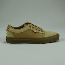 Vans Chukka Low Pro Trainers Pumps Shoes -Bronze/Gum New in box UK Size 8,10,11