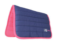 HySPEED Two Colour Thick Reversible Comfort Poly Saddle Pad/Saddlecloth