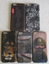 Apple iPhone 6G Soft Silicon Printed Back Cover Cases/Screen Guard/Tempered Glas