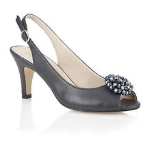 Lotus 'Fascination' open toe shoes Navy 50279