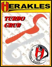 Artificiale Colmic Herakles softbait Turbo Grub spinning cm 14 luccio pike