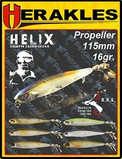 Artificiale spinning hard bait Colmic Herakles Helix Topwater proppeller