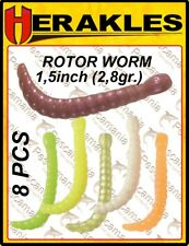 Artificiale light spinning area softbait Colmic Herakles Rotor Worm 1.5 in 8pz