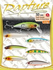 Artificiale spinning hard bait Trabucco Rapture Chibi Lures Minnow 50mm 3.4gr