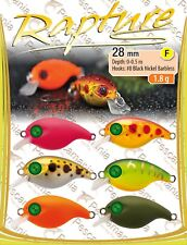 Artificiale spinning hard bait Trabucco Rapture Chibi Lures Crank 28mm 1.8gr