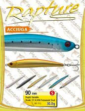Artificiale spinning hard bait Rapture ACCIUGA 90mm 30gr