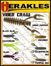 Artificiale spinning softbait Colmic Herakles Viber Craw 9 cm 7pcs