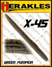 "Artificiale spinning softbait Colmic Herakles X-45 worm 4.5"" black bass"