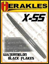 "Artificiale spinning softbait Colmic Herakles X-55 worm 5.5"" black bass"
