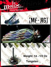 Artificiale spinning wire bait Molix MF-Jig 14gr. 1/2oz skirt silicone anti alga